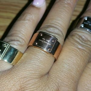 3 Michael Kors Signature Rings